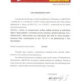 Referencje Łęka Mroczeńska